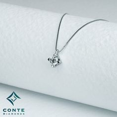 Collana punto luce - tornito #ConteDiamonds #jewels #gioielli #diamonds #diamanti #Milano
