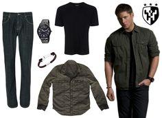 Inspiração Supernatural - Look 2 Dean Winchester