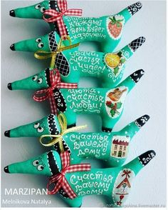 Купить Ароматные Собачки Новогодние. Магниты/ игрушки на ёлку в интернет магазине на Ярмарке Мастеров