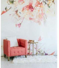 Lulu & Georgia Anewall Spring Floral Wallpaper Mural