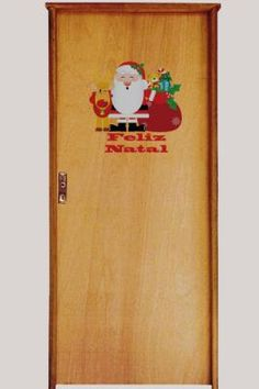Natal porta decorada