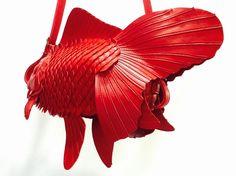 スムース革金魚バッグ(大) | ATELIERIWAKIRI
