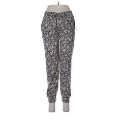 Mudd Casual Pants (€9,31) ❤ liked on Polyvore featuring pants and black