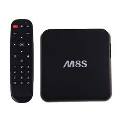 [$41.62] M8S 4K HD Smart TV BOX with Remote Controller, Android 4.4 Amlogic S812 Quad Core 2GHz, RAM: 2GB, ROM: 8GB, Support Bluetooth 4.0, WiFi, XBMC, DLNA