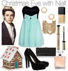"""""""Christmas Eve with Niall"""" by erinlooovesyou ❤ liked on Polyvore"""