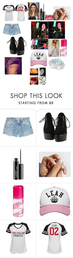 """Leah-Sending Maryse and Mike a warnibg that the true It//Power COuple is Leah and Blade"" by thefuturemrsambrose ❤ liked on Polyvore featuring RE/DONE, MAC Cosmetics, SoGloss and Allurez"