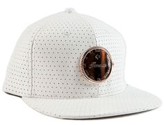 Timeless Leather Strapback Cap by VERITAS APPAREL