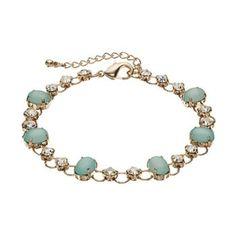 LC Lauren Conrad Cabochon Bracelet #Kohls