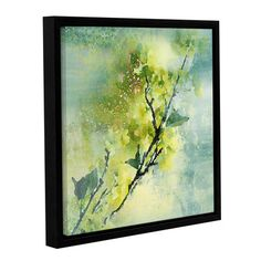 ArtWall 'Spring Green Color Palette' by Irena Orlov Framed Painting Print on Wrapped Canvas Size: