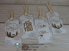 15 Paper Crafting Ideas PLUS Retiring Holiday Product List & Sale! (Mary Fish, Stampin' Pretty The Art of Simple & Pretty Cards) Stampin Up Christmas, Christmas Gift Tags, Christmas Cards, Christmas Punch, Christmas Tables, Nordic Christmas, Modern Christmas, Family Christmas, Christmas Christmas