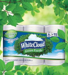 With White Cloud GreenEarth® products, there's no compromise between quality and affordability. #LivingtheGreen