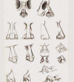 3D ART STREET ART MATERIAL ART FINE ART AND ALL: nose drawing