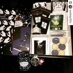 Merci ! #Repost @audrey02x with @repostapp  Une petite box bien sympa. tea. #lathebox #dammannfreres #higherliving #teatower