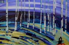 Linus Woods paintings | Bearclaw Gallery Edmonton - BUFFALO SONGS