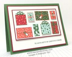 Bearing Gifts, Stampin' Up!, Brian King, PP215