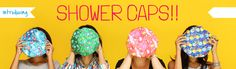 Shower Caps, Designers and Funky Shower Caps Price in India :: Chumbak