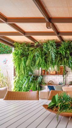 Small Backyard Gardens, Small Backyard Design, Backyard Garden Design, Small Backyard Landscaping, Backyard Ideas, Balcony Ideas, Tropical Garden Design, Garden Spaces, Balcony Garden