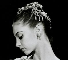 Suzanne Farrell, she has the most beautiful profile and I love her liquid eyeliner.