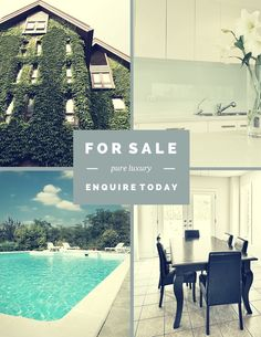Remixable Real Estate Flyer. Start Designing here: https://www.canva.com/