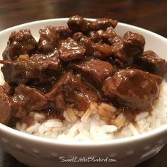 Best-Ever Beef Tips - Sweet Little Bluebird