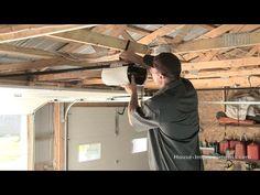 How To Install A Garage Door - YouTube