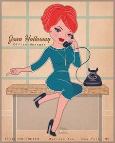 Joan Holloway from Mad Men