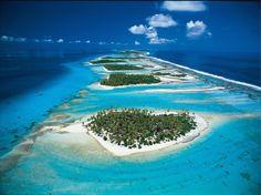 Top 10 Island Beaches for Secluded Getaways - Tahiti, Les Sables Roses, Rangiroa, French Polynesia Tahiti Vacations, Dream Vacations, Vacation Spots, Air Tahiti Nui, Islas Cook, Tahiti Islands, Society Islands, Paraiso Natural, Island Resort