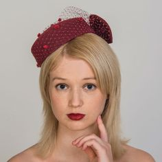 Buy designer UK made fascinators, fascinator hats and hatinators in colours to suit all outfits. How To Make Fascinators, Wedding Fascinators, Red Fascinator, Pill Boxes, Felt Hat, Color Swatches, Shades Of Red, Free Coloring, Mother Of The Bride