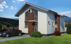 Návrh rodinného domu DECENTe od APEX ARCH s.r.o.
