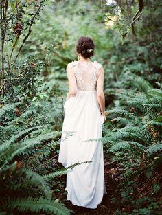 Sarah Seven wedding gown!   Stunning Oregon Riverside Shoot