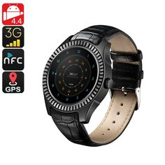 The is a high-end Bluetooth watch phone that supports one SIM card slot. It allows you to enjoy all the Android features straight from your wrist. Electronics Gadgets, Tech Gadgets, Best Online Clothing Stores, Android Features, Bluetooth Watch, Android Watch, Stylish Watches, Heart Rate Monitor, Smart Watch