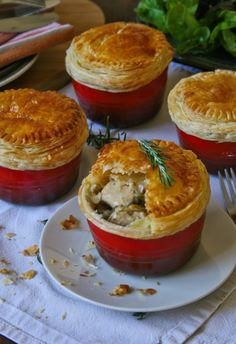 Chicken Pot Pie Recipe Puff Pastry, Classic Chicken Pot Pie Recipe, Chicken Pot Pie Filling, Puff Pastry Recipes, Curry Recipes, Pie Recipes, Snack Recipes, Cooking Recipes, Chicken Recipes