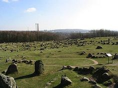Lindholm Høje (Lindholm Hills, from Old Norse haugr, hill or mound) is a major Viking burial site and former settlement situated to the north of and overlooking the city of Aalborg in Denmark.