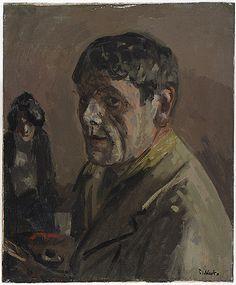 * Walter Sickert * Self Portrait, c. 1920s * Paintings- painting * British, 20th century . Harvard Art Museum (by renzodionigi)