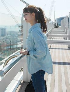 이중체크남방셔츠 *top(4color/skyblue)  SFSELFAA0000340