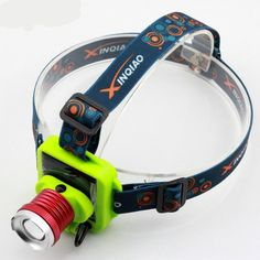 YUPARD Solar power Rechargeable Battery Head Torch Light 3 Modes Zoomable LED Headlight Headlamp for Camping Fishing Fishing Lights, Batterie Rechargeable, Torch Light, Camping, Fish Camp, Led Headlights, Portable, String Lights, Solar Power