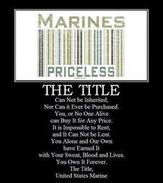 My marine Marine Quotes, Usmc Quotes, Military Quotes, Military Mom, Military Party, Marine Corps Humor, Us Marine Corps, Once A Marine, Marine Mom