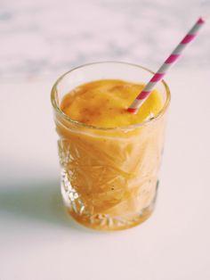Mango, Chia og Ingefær smoothie :)