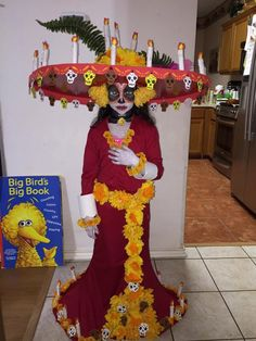 "A costume I want soon....This Little Girl Looks Amazing As La Muerte From ""The Book Of Life"" [Cosplay]"