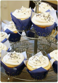 Lemon Lavender Cupcakes - How classically elegant and yummy sounding too!