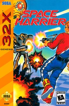 Sega 32x space harrier