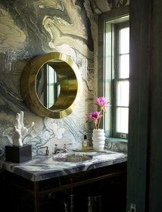 6 ways to make your bathroom more drool-worthy - go off radar with tiles via abigail ahern...