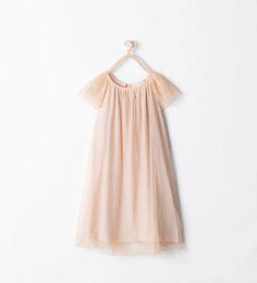 ZARA - KIDS - TULLE DRESS WITH STARS Flower girl dress?
