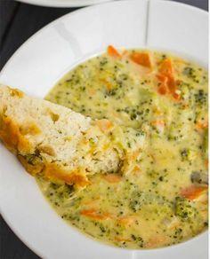 Broccoli cream... Simply delicious!