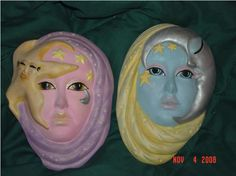 Star and moon masks