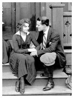 Olive in her first film, Beatrice Fairfax Episode Ten: Play Ball!