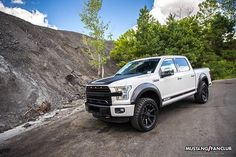 The ROUSH F150 SC, ready for any terrain you throw at it. Starting at $23,600 above base vehicle price. #TeamROUSH -- Photo:@mustangfanclub