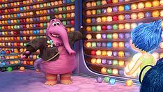 Disney Pixar's new movie Inside Out is filled with wonderful, colourful characters - but one in particular leaves an impression. BING BONG.