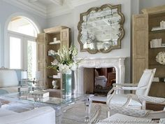 Living Rooms With Mirrors