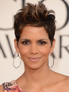 Halle Berry || Hair || Short pixie